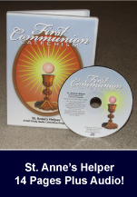 AUDIO First Communion Catechism With Text
