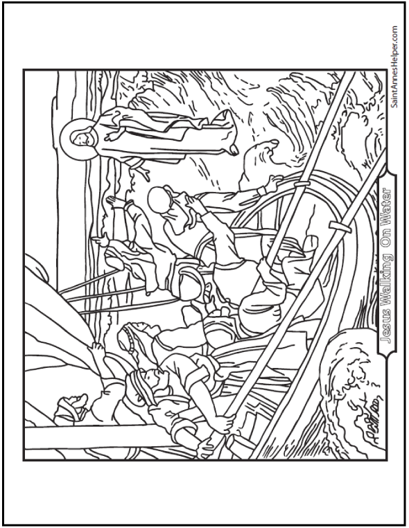 Coloring Pages Of Apostles Creed