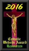 Catholic Resource Award Since 2009!