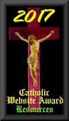 Catholic Catechism Blog Resource Award Since 2009!