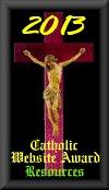 2013 St. Charles Borromeo Catholic Resources Award