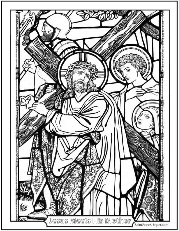 Lent Coloring Pages
