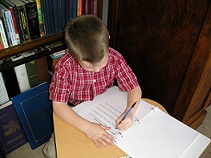 Practice Handwriting using the Baltimore Catechism