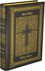 A Catholic Missal uses the Douay Rheims Bible quotes.