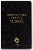Amazon: Roman Catholic Daily Missal - This 1962 version uses the Douay-Rheims Bible for the Epistles and Gospels.