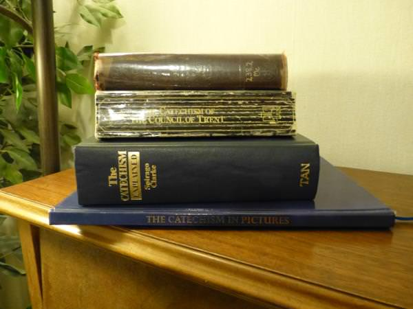 Adult Baltimore Catechism Books - Catechism Explained, Catechism of the Council of Trent, Catechism In Pictures