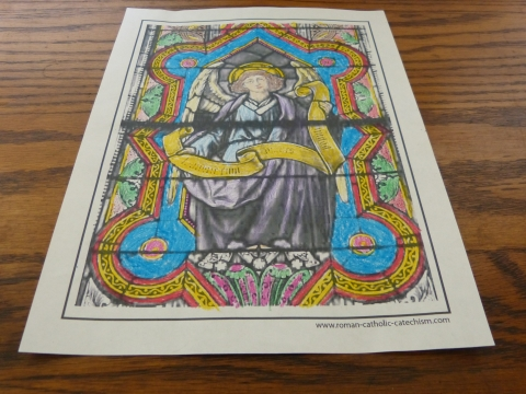 21 Stained Glass Coloring Pages Church Windows