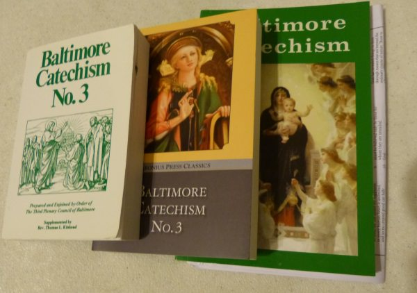 Baltimore Catechism No. 3 Books - TAN Books, Baronius, Seton