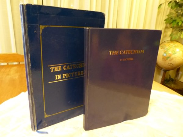 Catechism In Pictures - Back In Print With Alterations, similar to the Baltimore Catechism.