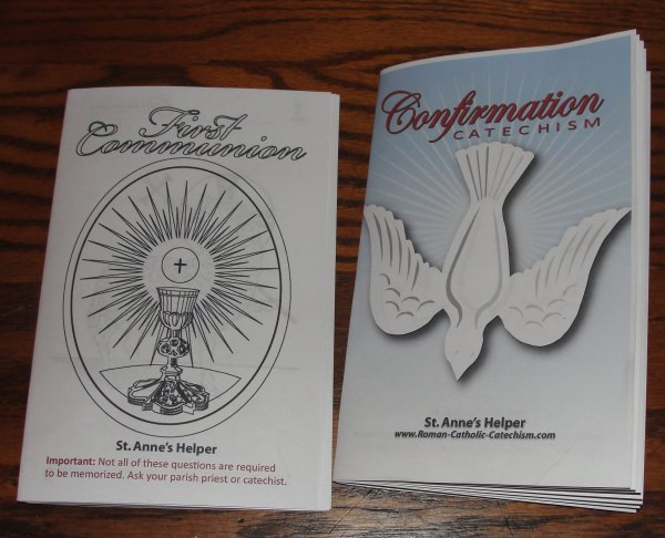 Saint Anne's Helper Catholic Catechism Ideas