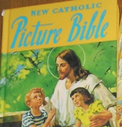 Catholic Picture Bible For Children - Super helpful for