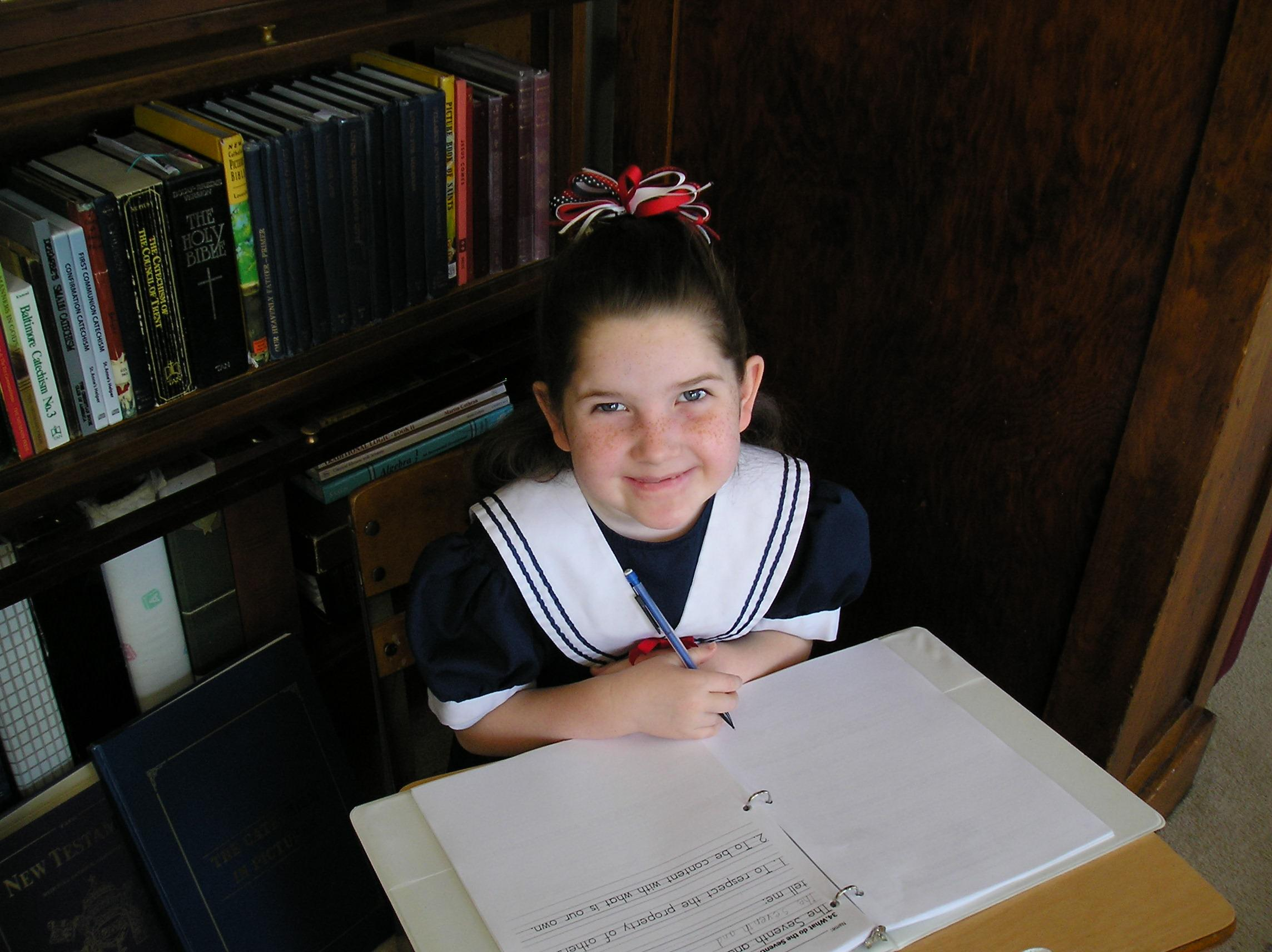 Catholic First Communion Worksheets or copybook. Awesome cursive writing practice too! Baltimore Catechism No. 1.