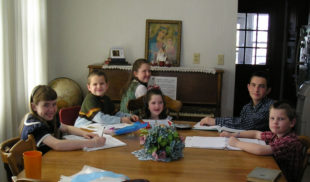 Catholic Homeschool Curriculum makes learning at home easier.