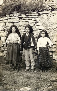 The Children of Fatima: Lucia, Jacinta, and Franciso received the Fatima prayers.