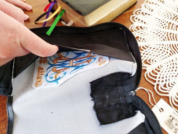 Custom Bible Covers: Sturdy Embroidery