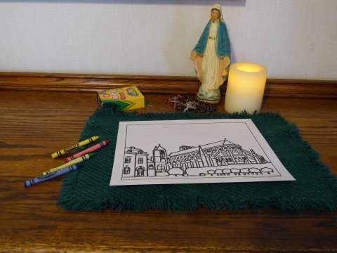 Church Coloring Pages To Print From Simple Elegant Churches