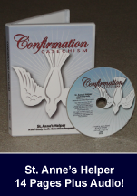 Catholic Confirmation Catechism Audio CD or Download.