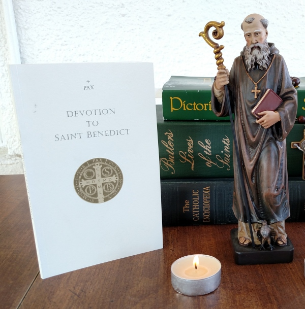 Books with of Saint Benedict, Novena Booklet with devotions