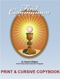 Catholic First Communion Baltimore Catechism No. 1 Worksheets