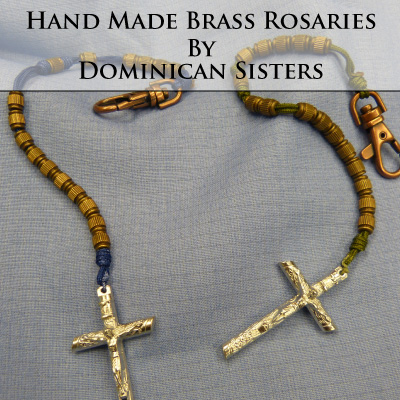 Brass Hand Made Rosaries Are Durable