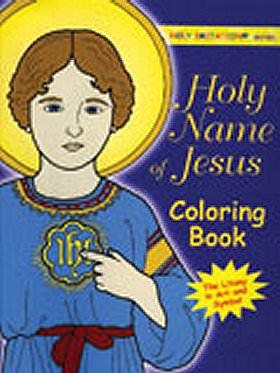 Holy Name of Jesus Catholic Coloring Book