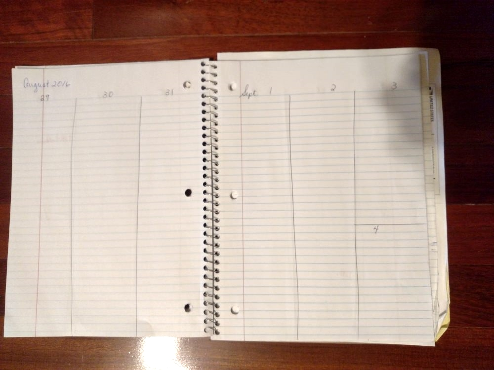 Catholic Homeschool Planner: Plain notebook or snazzy planner with liturgical year!