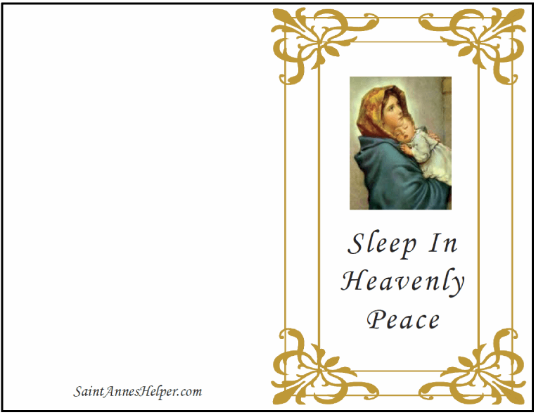Catholic Christmas Cards: Madonna of the Streets.