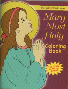 Mary Most Holy Catholic Coloring Book