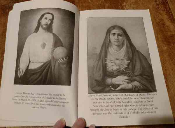 Sacred Heart of Jesus of Ecuador and Our Lady of Quito