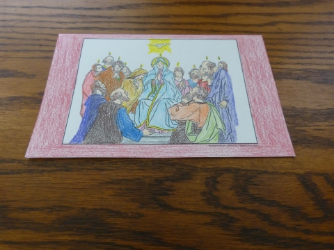 pentecost coloring page to make coloring sheets