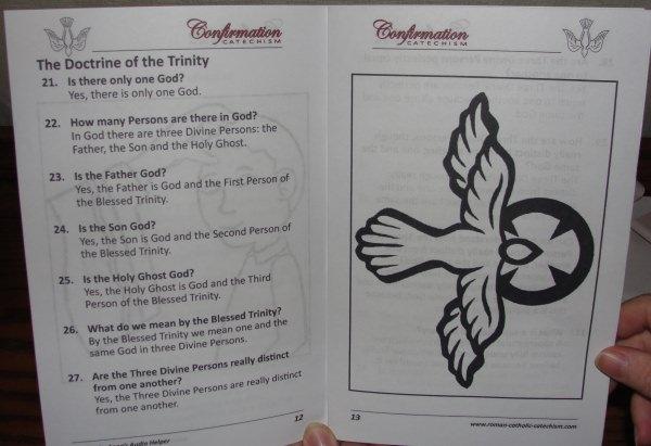 Catholic Confirmation: ebooks, worksheets, audio MP3 recording.