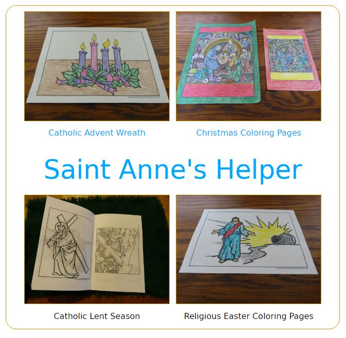 Catholic Liturgical Calendar Activities: Huge page! Advent, Nativity, Lent, Easter, Pentecost, and more.
