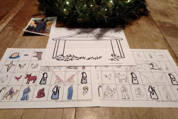 Printable Advent Calendars  ❤+❤ See SaintAnnesHelper.com Thank you for sharing! :-) #SaintAnnesHelper #CatholicHomeschool #CatholicCatechism #CatholicColoringPages #Advent #AdventCalendar
