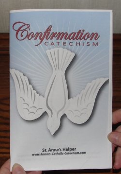 Printable Catholic Confirmation Preparation Download - 30 pages Baltimore Catechism Confirmation Quiz Q&A.