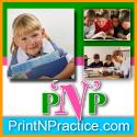 PrintNPractice.com Logo