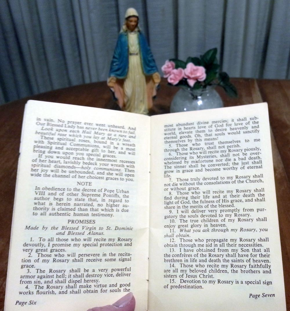 Promises of the Rosary Booklet