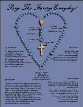 graphic relating to How to Pray the Rosary for Kids Printable referred to as 6+ Rosary Diagrams ❤+❤ Rosary Playing cards in direction of Print