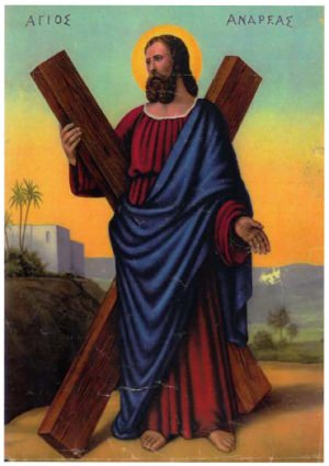 Saint Andrew the Apostle - St. Andrew Prayer For The Novena
