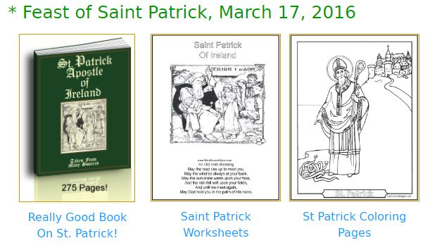 Saint Patrick S Day Coloring Pages Catholic Coloring Pages