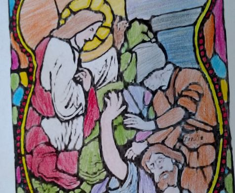 Apostles Creed and Apostle coloring pages
