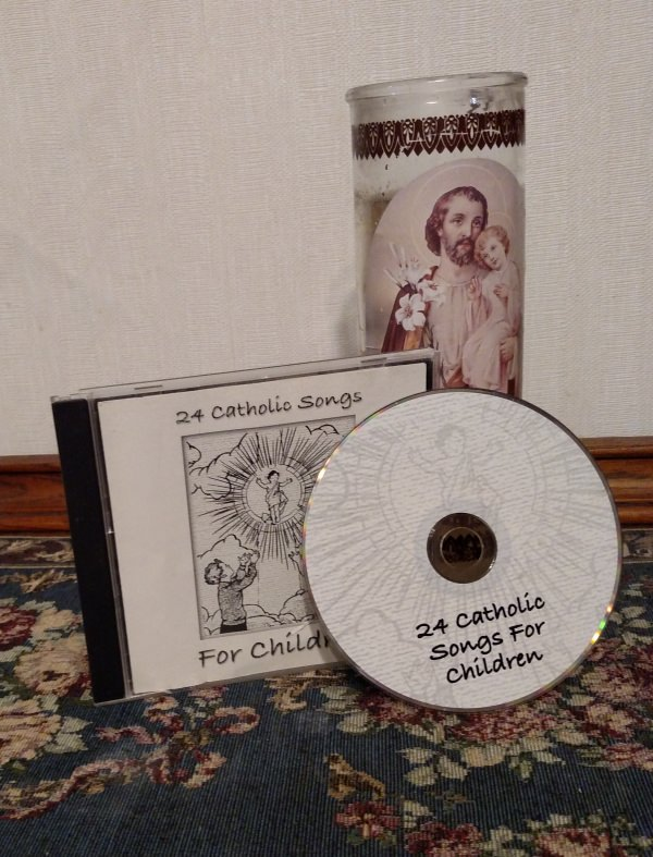 24 Catholic Songs And Ten Commandments Song CD