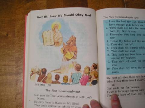 The Catholic Ten Commandments