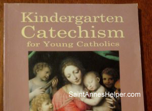Seton's Kindergarten Catechism Catholic Sunday School book improved the NSJFCC.