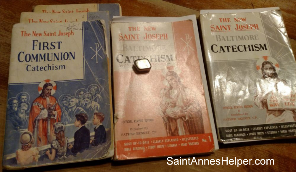 Popular Catholic catechism for children: New Saint Joseph Baltimore Catechism series by Catholic Book Publishing Company.