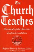The Church Teaches - Documents of the Church in English translation. Great for Catholic seminarians, reference, or for reading.