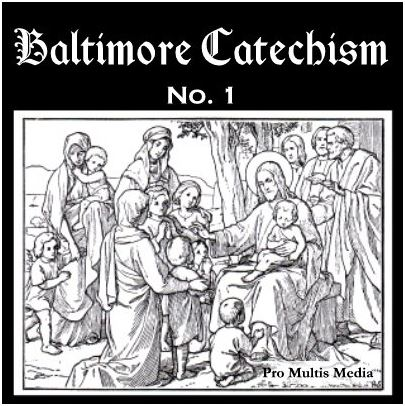 Audio Baltimore Catechism CD - Pro Multis audio catechism with mother and daughter quizzing questions and answers.