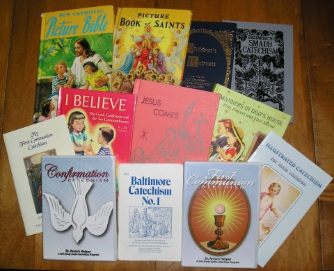 Baltimore Catechism 1891 and 1950s Audio CDs