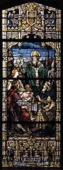 St. Patrick Stained Glass Window - What is Confirmation?