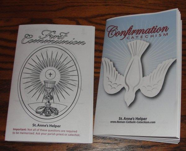 Saint Anne's Helper Catholic Catechism Ideas