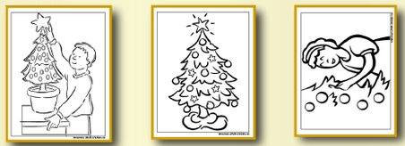 Christmas Tree Coloring Pages - Little Children Love Them!